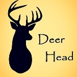 This is the restaurant logo for Deerhead Lakeside Restaurant & Bar