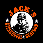 This is the restaurant logo for Jack's Steakhouse and Seafood