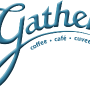 This is the restaurant logo for Gather Coffee
