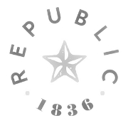This is the restaurant logo for Republic Texas Tavern