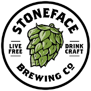 This is the restaurant logo for Stoneface Brewing Co