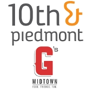 This is the restaurant logo for 10th & Piedmont / Gilbert's