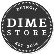 This is the restaurant logo for DIME STORE