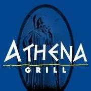 This is the restaurant logo for Athena Grill