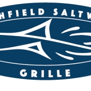 This is the restaurant logo for Saltwater Grille