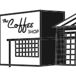 This is the restaurant logo for The Coffee Shop
