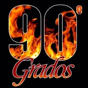 This is the restaurant logo for 90 Grados Restaurant