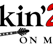 This is the restaurant logo for Rockin'Dog on Main