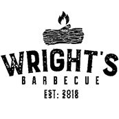 This is the restaurant logo for Wrights BBQ - Bentonville