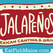 This is the restaurant logo for Jalapeños Cantina & Mexican Grill