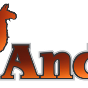 This is the restaurant logo for Los Andes Restaurant