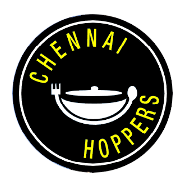 This is the restaurant logo for CHENNAI HOPPERS