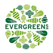 This is the restaurant logo for Evergreens