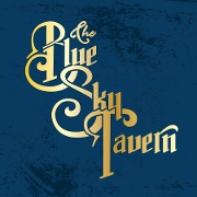 This is the restaurant logo for Blue Sky Tavern