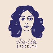 This is the restaurant logo for Miss Ada