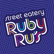 This is the restaurant logo for Ruby Ru's Street Eatery