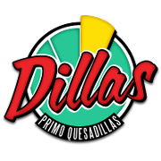 This is the restaurant logo for Dillas Quesadillas