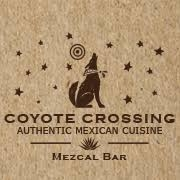 This is the restaurant logo for Coyote Crossing Restaurant