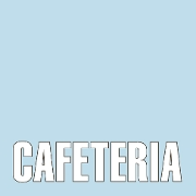 This is the restaurant logo for CAFETERIA