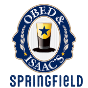 This is the restaurant logo for Obed and Isaac's-Springfield
