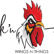 This is the restaurant logo for Chick'n Headz