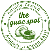 This is the restaurant logo for The Guac Spot