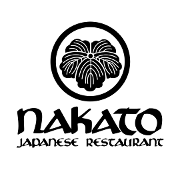 This is the restaurant logo for Nakato Japanese Restaurant