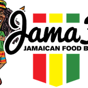 This is the restaurant logo for JamaFo Xpress, Jamin Vegan, FIMI Wings