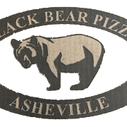 This is the restaurant logo for Black Bear Pizza