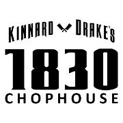This is the restaurant logo for Kinnard & Drake's 1830 Chophouse