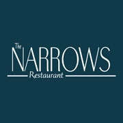 This is the restaurant logo for The Narrows Restaurant