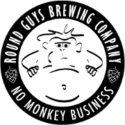 This is the restaurant logo for Round Guys Brewery