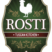 This is the restaurant logo for Rosti Tuscan Kitchen - Calabasas