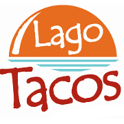 This is the restaurant logo for Lago Tacos