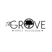 This is the restaurant logo for The Grove Family Restaurant