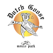 This is the restaurant logo for Dutch Goose