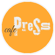 This is the restaurant logo for Cafe Press Chicago