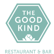 This is the restaurant logo for The Good Kind
