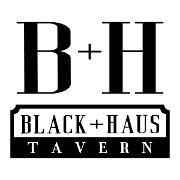 This is the restaurant logo for Black+Haus Tavern