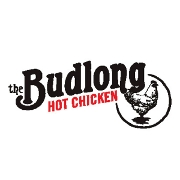 This is the restaurant logo for The Budlong Hot Chicken