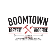 This is the restaurant logo for Boomtown | Hibbing, MN