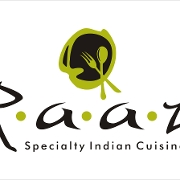 This is the restaurant logo for Raaz