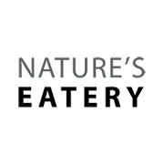 This is the restaurant logo for Nature's Eatery