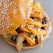 This is the restaurant logo for Farm Burger Nashville