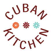 This is the restaurant logo for Cuban Kitchen