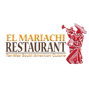 This is the restaurant logo for El Mariachi Restaurant