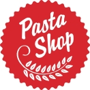 This is the restaurant logo for The Pasta Shop Denville