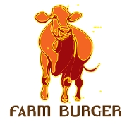 This is the restaurant logo for Farm Burger Buckhead