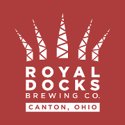 This is the restaurant logo for Royal Docks Brewing