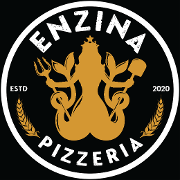 This is the restaurant logo for Pizzeria Enzina